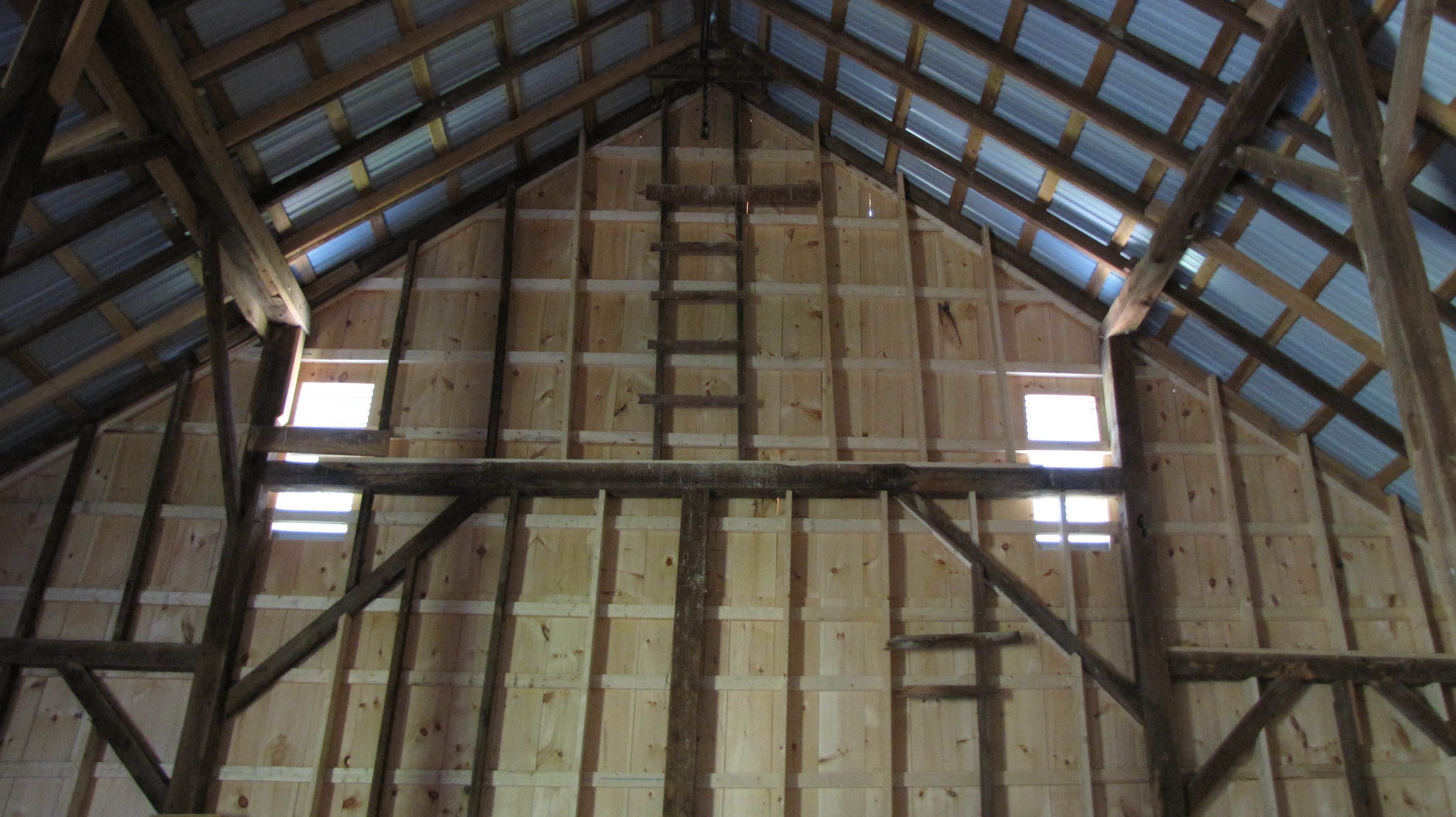 Barn Restoration Project Capon Crossing Farm