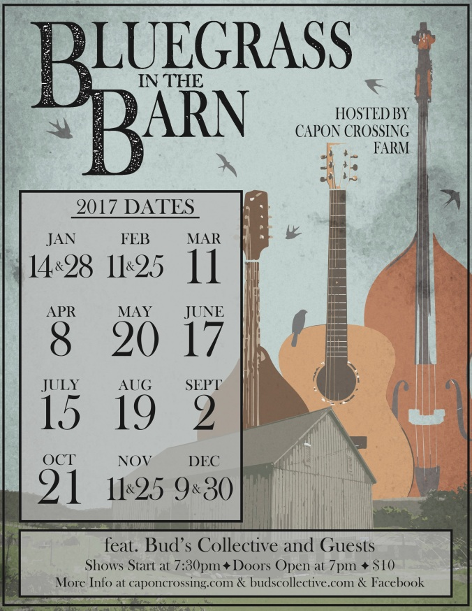 bluegrass in the barn 2017