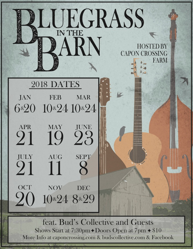 bluegrass in the barn 2018